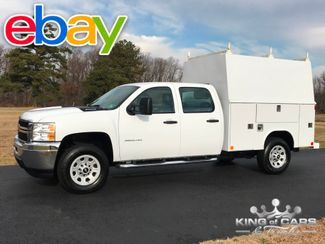 2014 Chevrolet Silverado 3500 W/T CREW CAB READING WALK-IN UTILITY BODY MINT 1-OWNER in Woodbury, New Jersey 08096