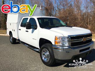 2014 Chevrolet Silverado 3500 W/T CREW CAB READING WALK-IN UTILITY BODY MINT 1-OWNER in Woodbury, New Jersey 08093