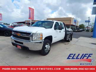 2014 Chevrolet Silverado 3500HD Crew Cab Flatbed WT in Harlingen, TX 78550