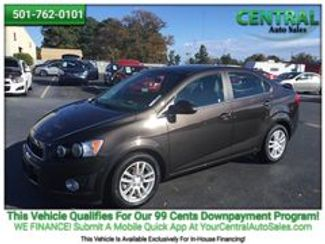 2014 Chevrolet Sonic LT | Hot Springs, AR | Central Auto Sales in Hot Springs AR