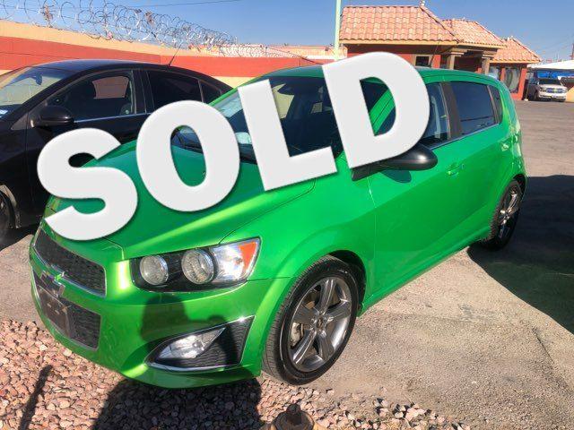 2014 Chevrolet Sonic RS CAR PROS AUTO CENTER (702) 405-9905 Las Vegas, Nevada