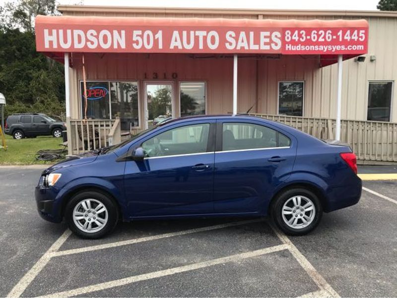 2014 Chevrolet Sonic LT | Myrtle Beach, South Carolina | Hudson Auto Sales in Myrtle Beach South Carolina