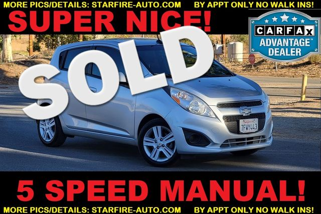 2014 Chevrolet Spark LS 5 SPEED MANUAL