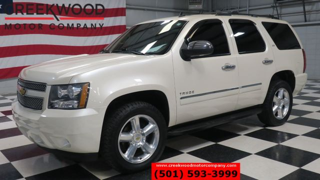 2014 Chevrolet Tahoe LTZ 4x4 White Diamond Nav Roof Tv Dvd 20s 1 Owner
