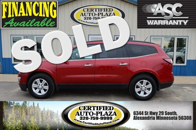 2014 Chevrolet Traverse in Alexandria Minnesota