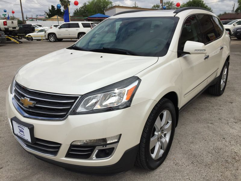 2014 Chevrolet Traverse LTZ  Brownsville TX  English Motors  in Brownsville, TX