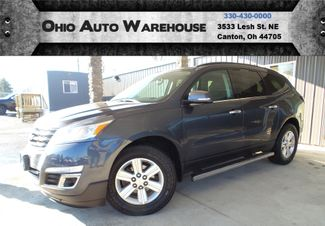 2014 Chevrolet Traverse LT AWD 3rd Row V6 Clean Carfax We Finance | Canton, Ohio | Ohio Auto Warehouse LLC in Canton Ohio