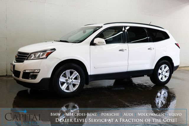 2014 Chevrolet Traverse LT Sport Utility w/8-Pass Seating, Backup Cam, Touchscreen Infotainment & Heated Seats in Eau Claire, Wisconsin 54703