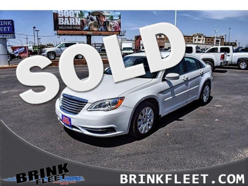 2014 Chrysler 200 LX   Lubbock, TX   Brink Fleet in Lubbock TX