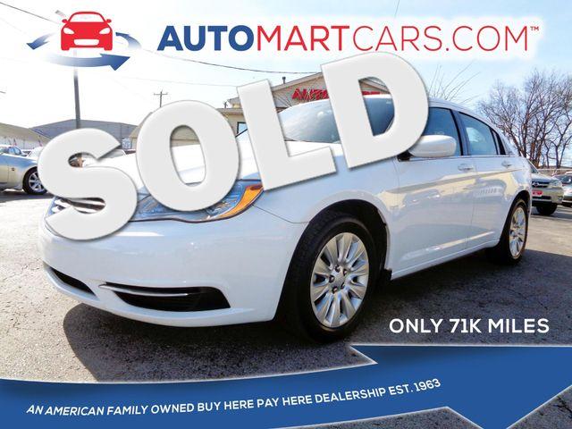 2014 Chrysler 200 LX | Nashville, Tennessee | Auto Mart Used Cars Inc. in Nashville Tennessee