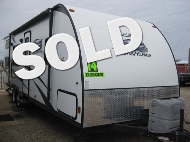 2014 Coachmen Freedom Express SOLD! Odessa, Texas