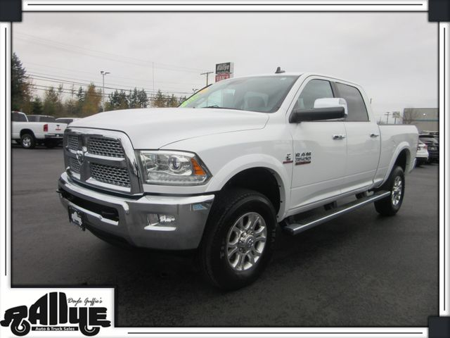 2014 Dodge 3500 Ram Laramie C/Cab 4WD 6.7L Diesel in Burlington WA, 98233