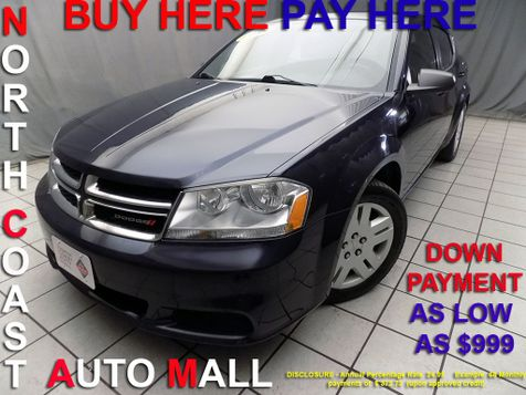 2014 Dodge Avenger As low as $999 DOWN in Cleveland, Ohio