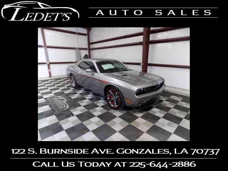2014 Dodge Challenger R/T - Ledet's Auto Sales Gonzales_state_zip in Gonzales Louisiana