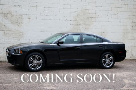 2014 Dodge Charger AWD w/19-Inch Rims, Keyless Start, Remote Start, Bluetooth Audio & Phone Connection in Eau Claire