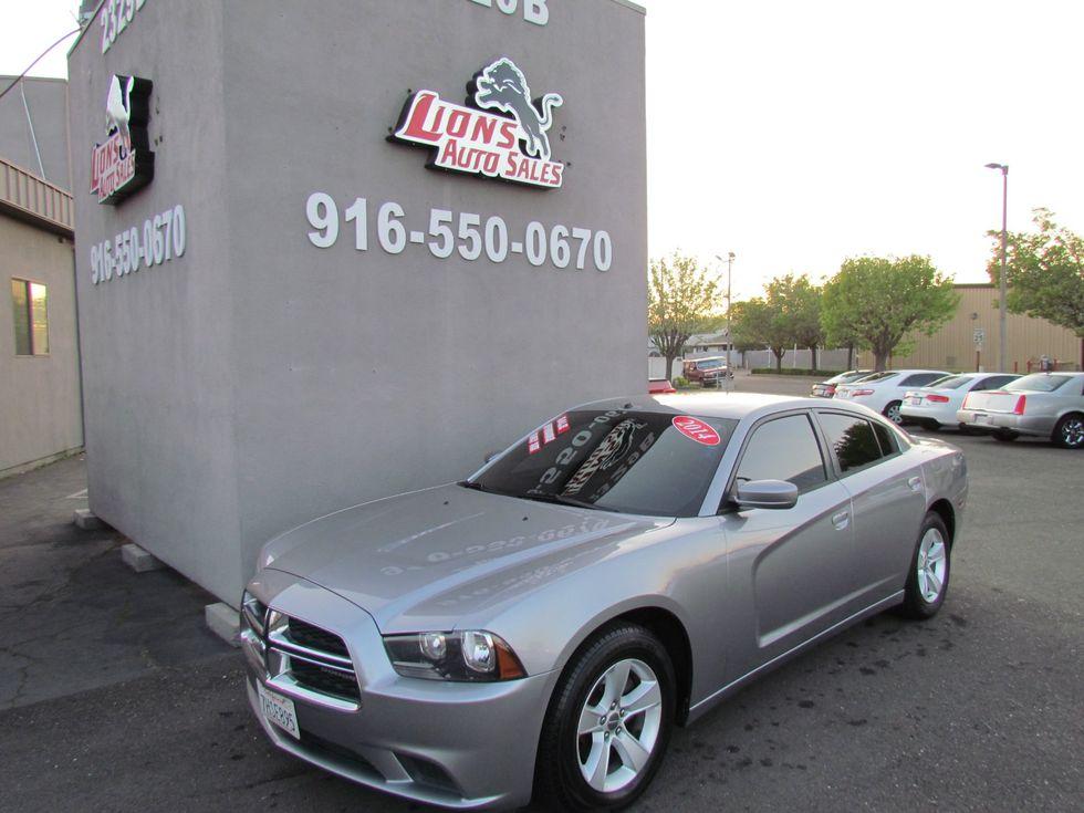 2014 Dodge Charger SE   Sacramento CA   Lions Auto Sales