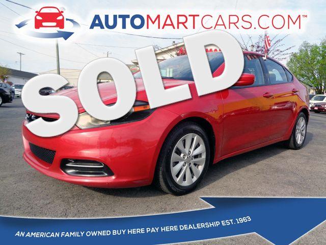 2014 Dodge Dart SXT | Nashville, Tennessee | Auto Mart Used Cars Inc. in Nashville Tennessee