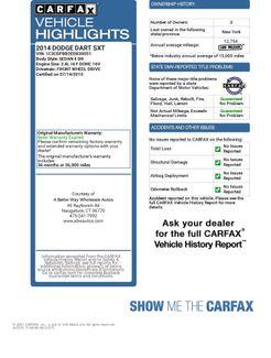 2014 Dodge Dart SXT Naugatuck, Connecticut 1
