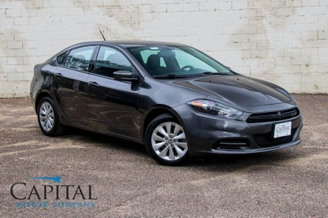2014 Dodge Dart SXT w/Touchscreen Infotainment, Backup Cam, Bluetooth Streaming & Gets 35MPGs in Eau Claire