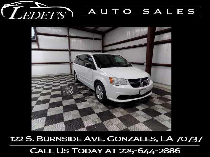 2014 Dodge Grand Caravan SE - Ledet's Auto Sales Gonzales_state_zip in Gonzales Louisiana
