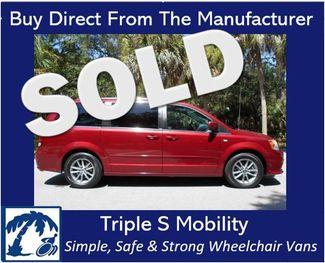 2014 Dodge Grand Caravan Sxt 30th Anniversary Wheelchair Van Handicap Ramp Van Pinellas Park, Florida