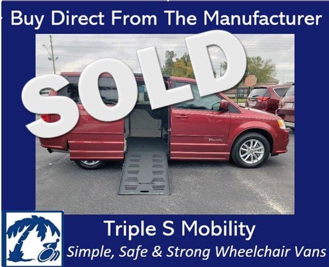 2014 Dodge Grand Caravan Sxt Wheelchair Van Handicap Ramp Van