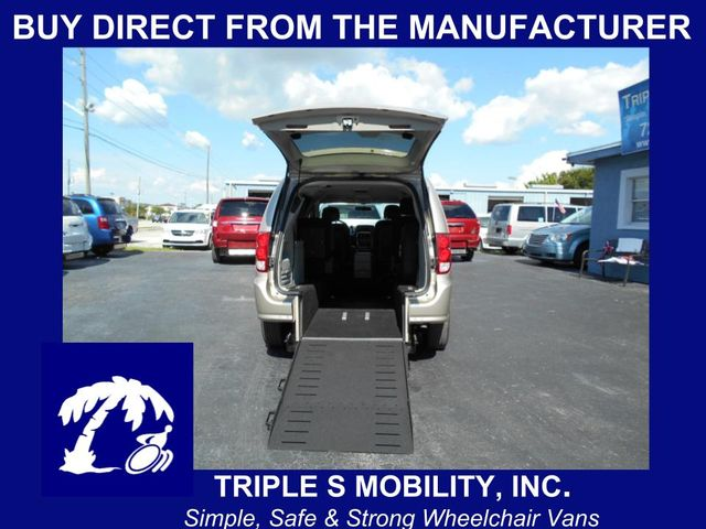 2014 Dodge Grand Caravan Sxt Wheelchair Van Pinellas Park, Florida
