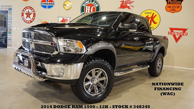 2014 Dodge Ram 1500 Regency Badlander 4X4,LIFTED,NAV,HTD LTH,20'S,12K