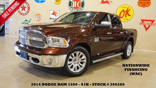 2014 Dodge Ram 1500 Laramie Longhorn ECODIESEL,NAV,HTD/COOL LTH,81K