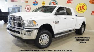2014 Dodge RAM 3500 DRW Lone Star 4X4 DIESEL,NAV,BACK-UP CAM,LTH,41K! in Carrollton TX, 75006