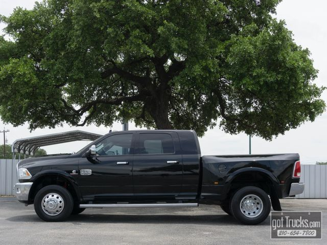 2014 Dodge Ram 3500 Mega Cab Longhorn 6.7L Cummins Turbo Diesel 4X4 in San Antonio Texas, 78217