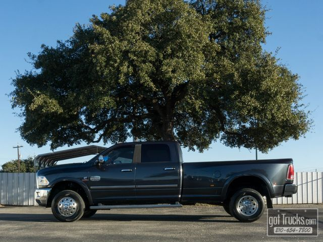 2014 Dodge Ram 3500 Crew Cab Longhorn 6.7L Cummins Turbo Diesel 4X4