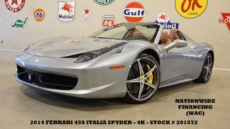 2014 Ferrari 458 Italia Spider MSRP 308K,NAV,BACK-UP CAM,6 DISK CD,4K in Carrollton, TX 75006
