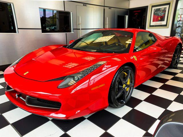 2014 Ferrari 458 Italia Spider