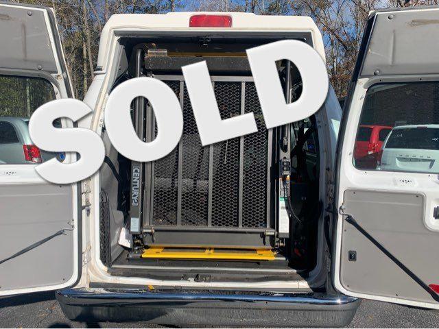 2014 Ford E-Series Cargo Van Handicap wheelchair accessible van