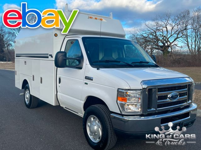 2014 Ford E350 Srw STAHL WALK-IN UTILITY VAN ONE OWNER CLEAN CARFAX