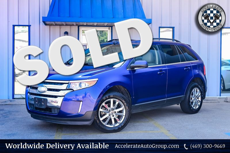2014 Ford Edge 3.5L V6 LIMITED LEATHER BACK-UP CAMERA in Rowlett Texas