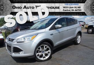 2014 Ford Escape Titanium 4X4 Leather EcoBoost 1-Owner We Finance | Canton, Ohio | Ohio Auto Warehouse LLC in Canton Ohio