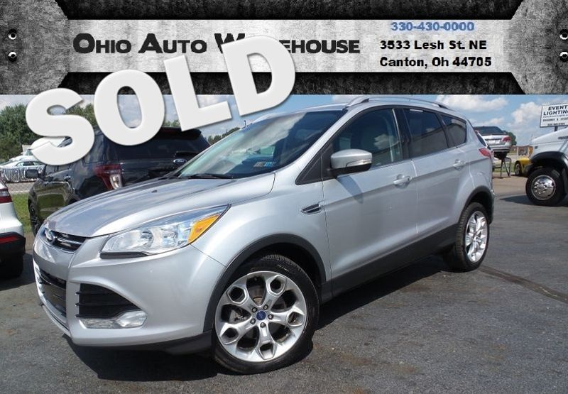 2014 Ford Escape Titanium 4X4 Leather EcoBoost 1-Owner We Finance | Canton, Ohio | Ohio Auto Warehouse LLC in Canton Ohio