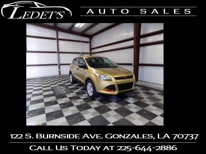 2014 Ford Escape S - Ledet's Auto Sales Gonzales_state_zip in Gonzales Louisiana