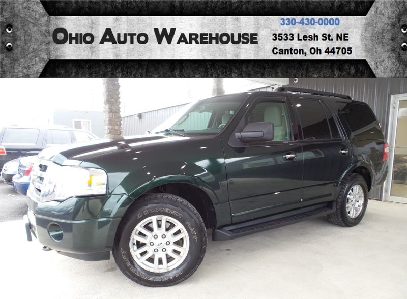 2014 Ford Expedition XLT 4x4 Nav Roof 3rd Row Cln Carfax We Finance | Canton, Ohio | Ohio Auto Warehouse LLC in Canton Ohio