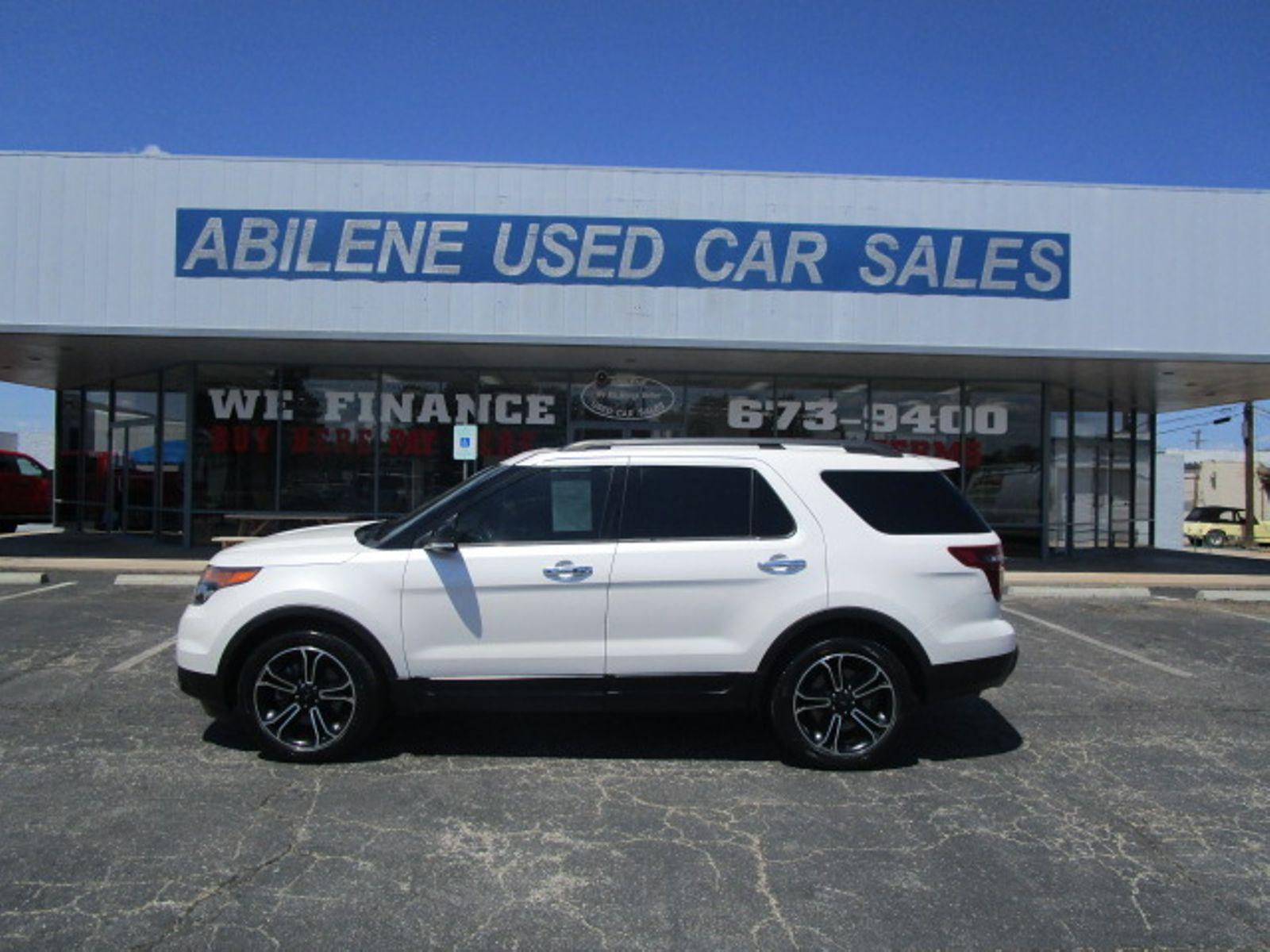 abilene used car sales abilene tx  2014 Ford Explorer Sport Abilene TX Abilene Used Car Sales