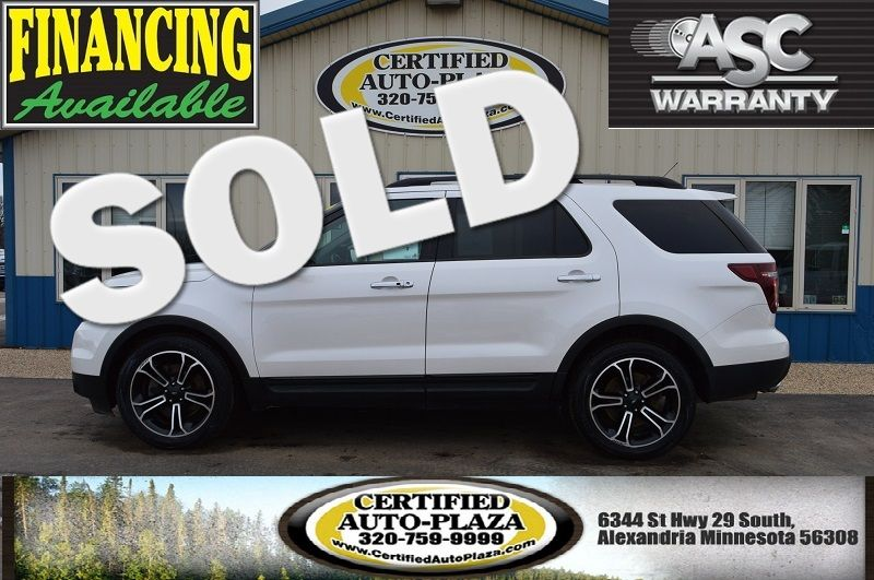 2014 Ford Explorer Sport 4x4 in Alexandria Minnesota
