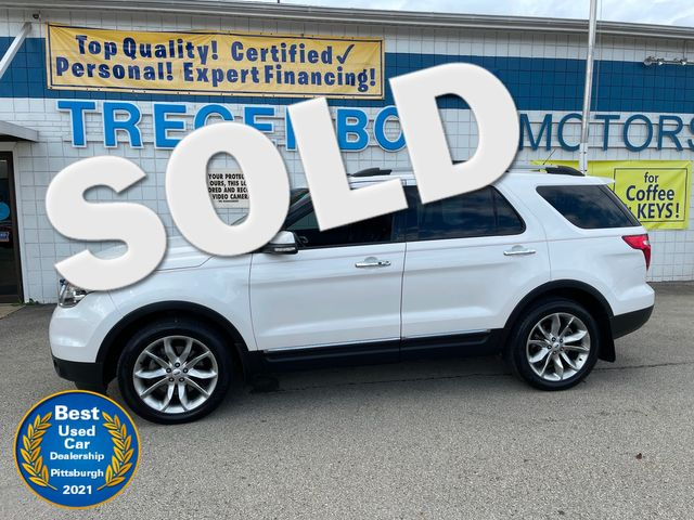 2014 Ford Explorer 4WD Limited in Bentleyville, Pennsylvania 15314