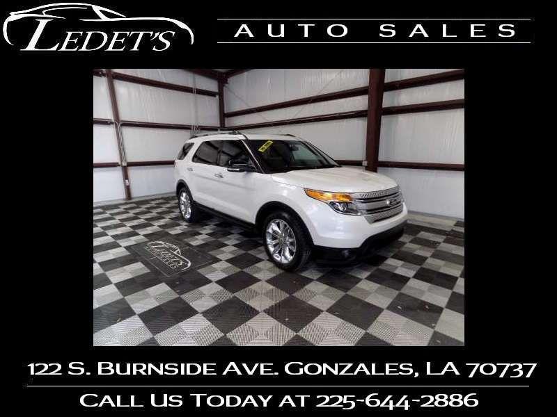 2014 Ford Explorer XLT - Ledet's Auto Sales Gonzales_state_zip in Gonzales Louisiana