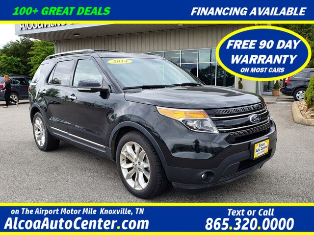 "2014 Ford Explorer Limited FWD 3.5L Leather/Navi/BLIS/20"" Aluminum"