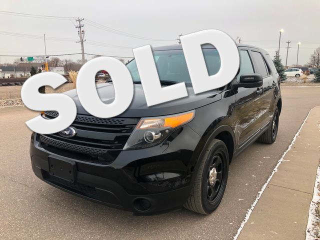 2014 Ford Explorer AWD 4WD Police Osseo, Minnesota