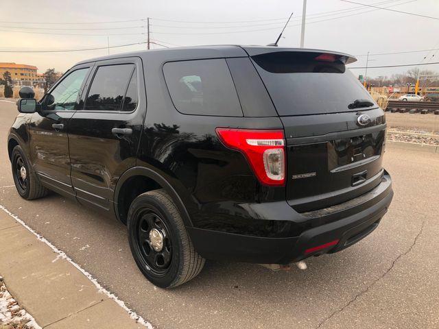2014 Ford Explorer AWD 4WD Police Osseo, Minnesota 4