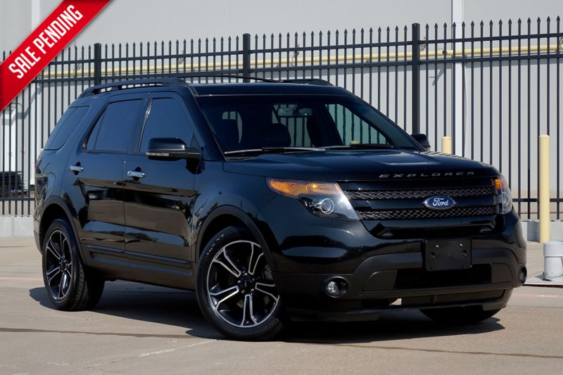 2014 Ford Explorer Sport*3rd Row*Nav*BU Cam*Sunroofs*Leather** | Plano, TX | Carrick's Autos in Plano TX