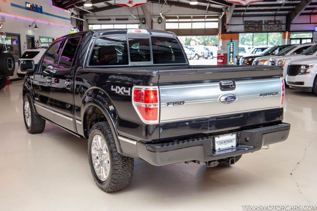 2014 Ford F-150 Platinum 4x4 in Addison, Texas 75001